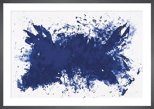 Hommage a Tennessee by Yves Klein