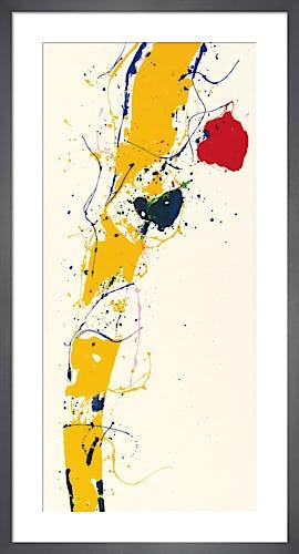 Untitled 1985 by Sam Francis