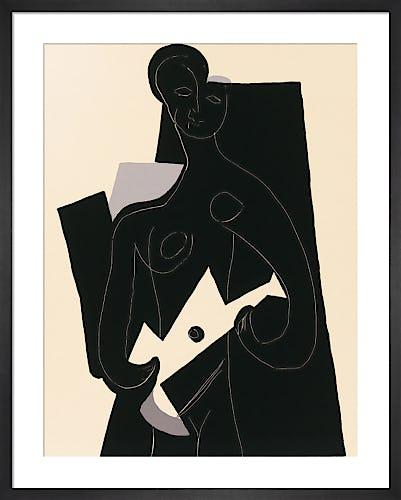 Femme a la guitare 1924 by Pablo Picasso