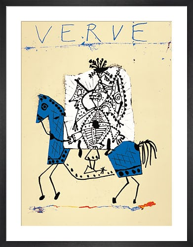 Cover for Verve 1951 by Pablo Picasso