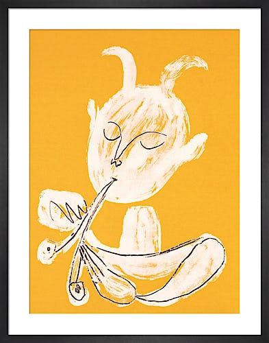 White Faun by Pablo Picasso