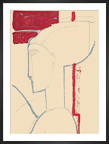 Testa scultorea by Amedeo Modigliani