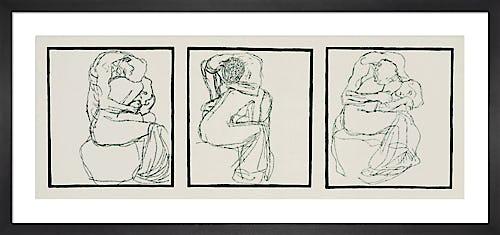 Love Couples 1903 by Gustav Klimt