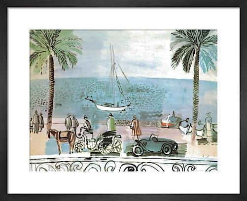 Promenade a Nice, 1926 by Raoul Dufy