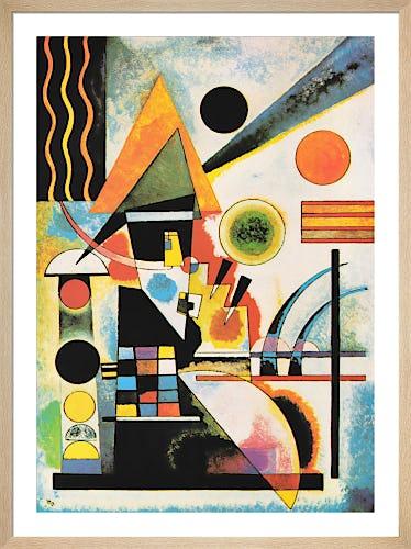 Swinging, 1925 by Wassily Kandinsky