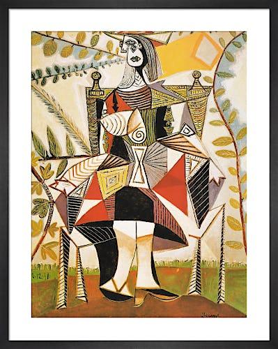 Femme au Jardin by Pablo Picasso