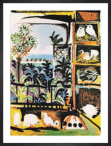 Les Pigeons by Pablo Picasso