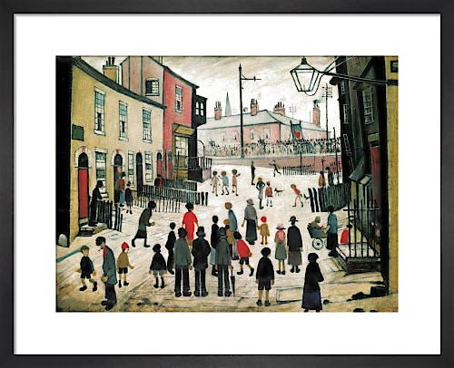 A Procession by L.S. Lowry