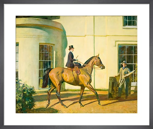 My Wife My Horse and Myself by Sir Alfred Munnings