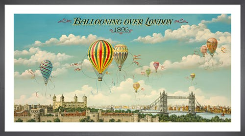 Ballooning Over London by Isiah and Benjamin Lane